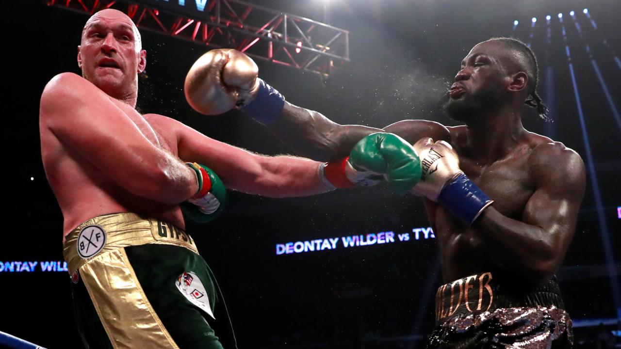 WBC approves immediate rematch after Deontay Wilder-Tyson Fury draw