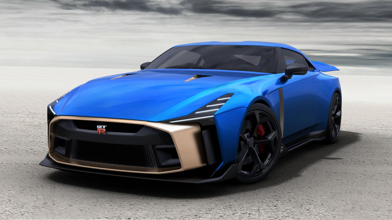Nissan Opens Orders for $1.1 Million, 710-HP GT-R50 Italdesign