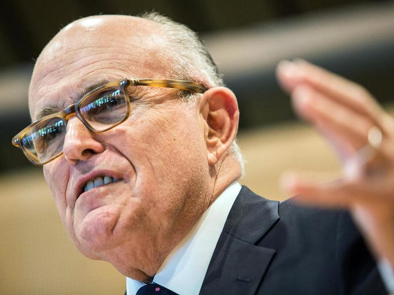 Giuliani's Twitter typo used to abuse President Trump
