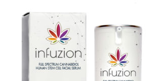 Infuzion face lift in a bottle
