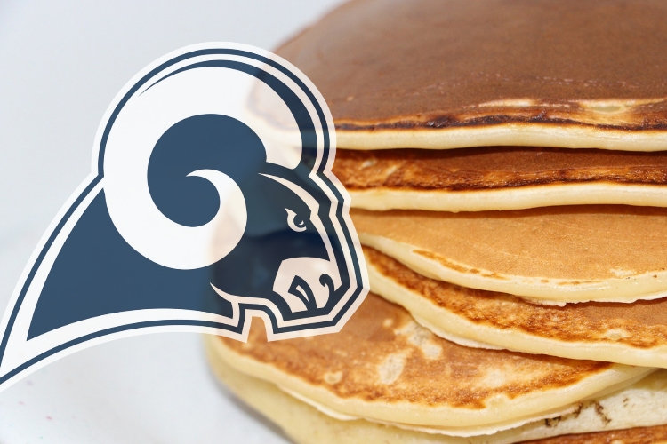 The LA Rams For A Pancake Breakfast Sports Giveaways And Ride