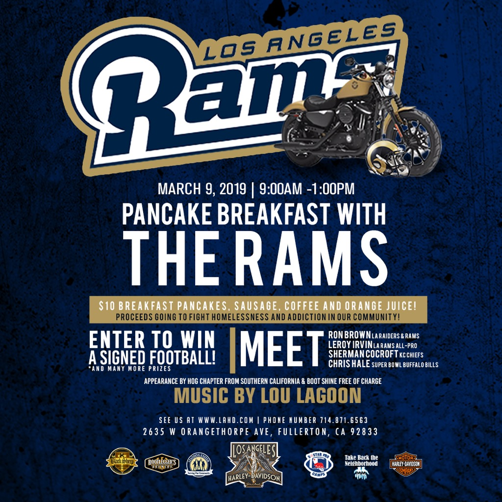 breakfast with the RAMS